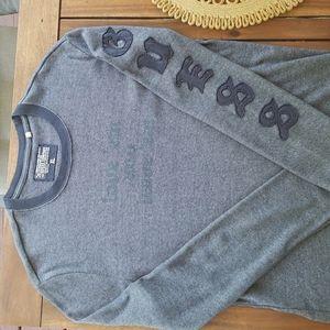 GUESS Mens Knit Shirt Long Sleeve